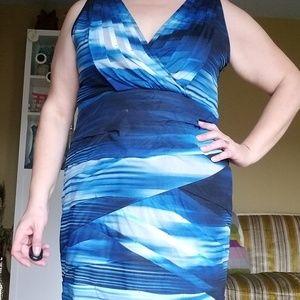 Lane Bryant Sleeveless Bodycon Dress
